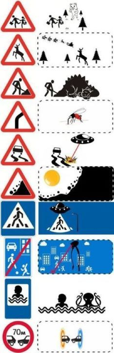 What road signs really mean…