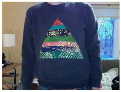 This is a bomb ass sweater.  -transcendentalist:  made this today, happy with how it came out!