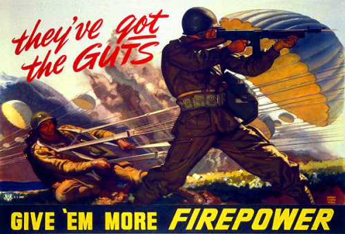 World War II Motivational Poster