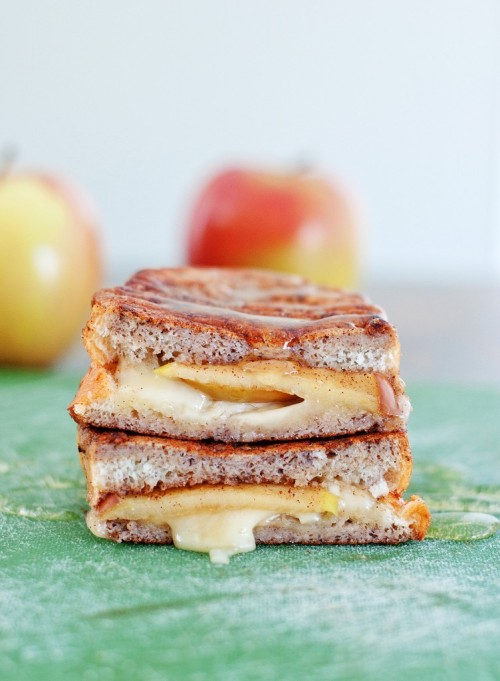 Apple and Brie Stuffed French Toast