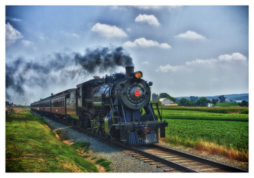 Strasburg Railroad Rolling Along on Flickr.