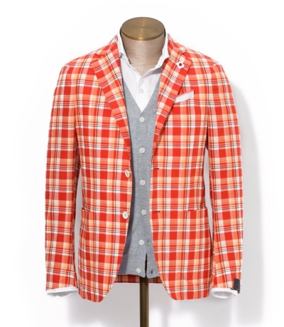 iqfashion:  Lardini  This jacket is loud and actually kind of hurts my eyes.  I love it.