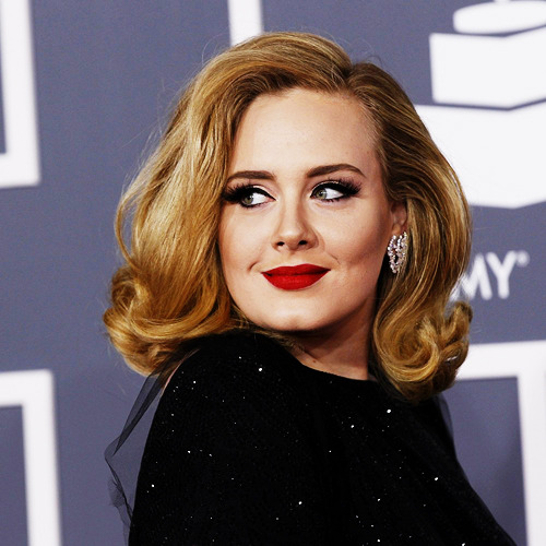 jenniferstoddart:  Adele looked (and sounded) stunning at the #Grammys tonight.