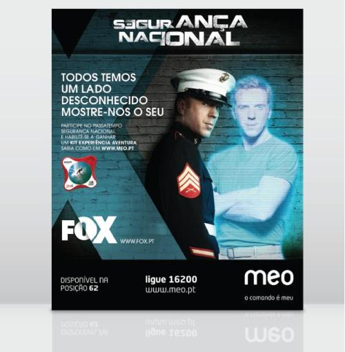 Segurança Nacional (Homeland) - Fox International Channels Agência Publicidade - Pony Tale, Billy The Group