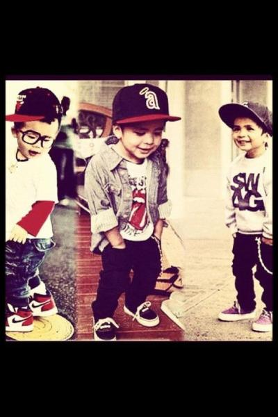 swagged out lil niqqaz