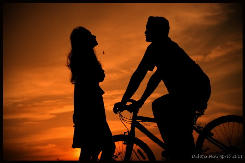 #Siluet of Didit & Nia #Prewed