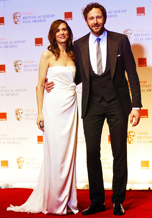 Kristen Wiig and Chris O'Dowd, 2012 BAFTA Awards (February 12)