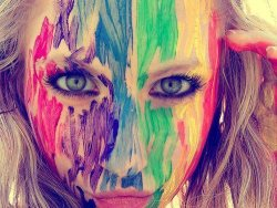 color, cool, cute, face, funny - inspiring picture on Favim.com on We Heart It. http://weheartit.com/entry/22988029