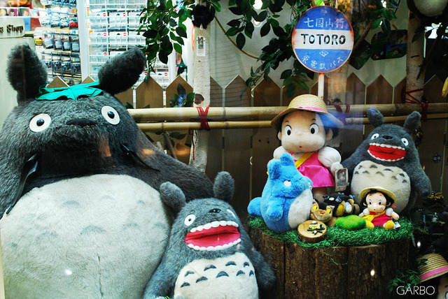 Totoro. by Garbo.Yau on Flickr.