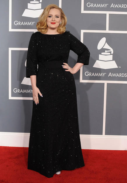 bahahaandblah:  Adele at the 2012 Grammy Awards