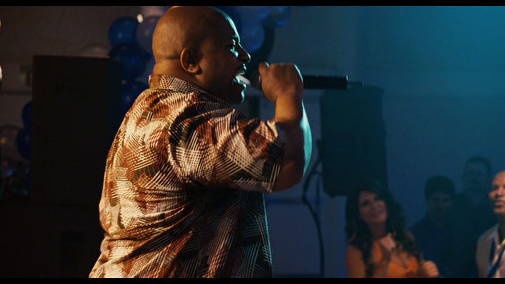 Marvin Young aka Young MC performs 'Bust A Move' during Up In The Air (2009)