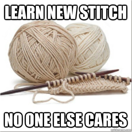 knittingproblems:  Submitted by suninwintertime, who learned the moss stitch this weekend!