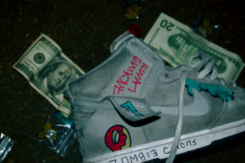 marijuana-nightmares:  I wonder if Tyler kept these shoes?