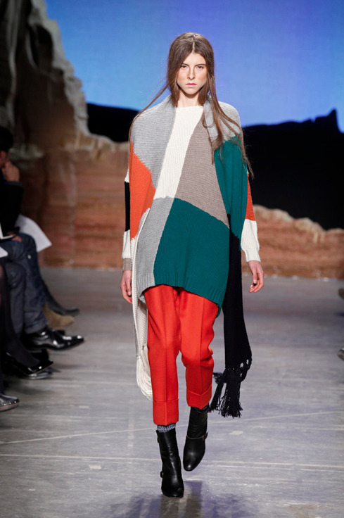 oystermag: Band of Outsiders AW12 at NYFW.