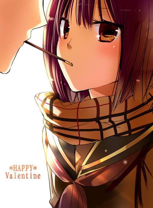Oh the pocky game. It's awkward anywhere to you. \(/u/)/