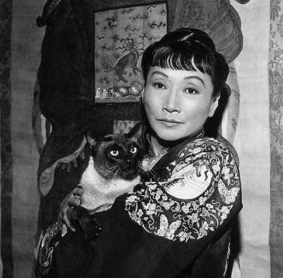 Anna May Wong. The company you keep, the size of their whiskers.