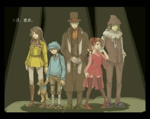 omg. Professor Layton anime, please and thank you :3