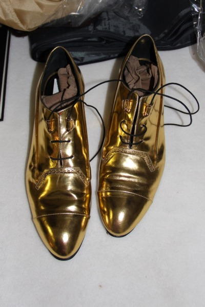 evachen212:  these gold oxfords at Derek Lam made my heart melt, ahhh
