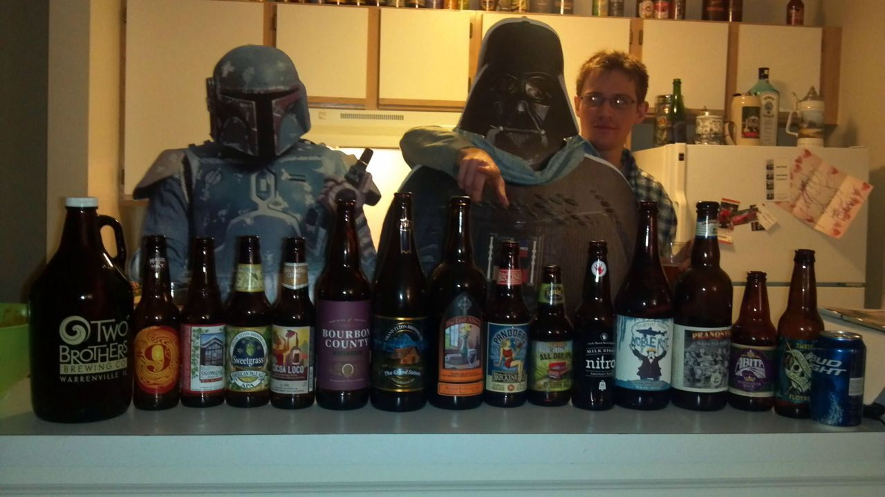 Welcome To The Dark Side… We have beer.