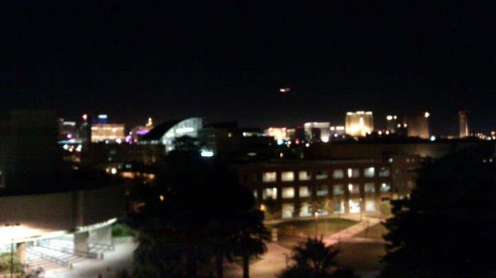 I found myself on the roof of the Union one night. It was peaceful up there. (Photo by infiniteambience)