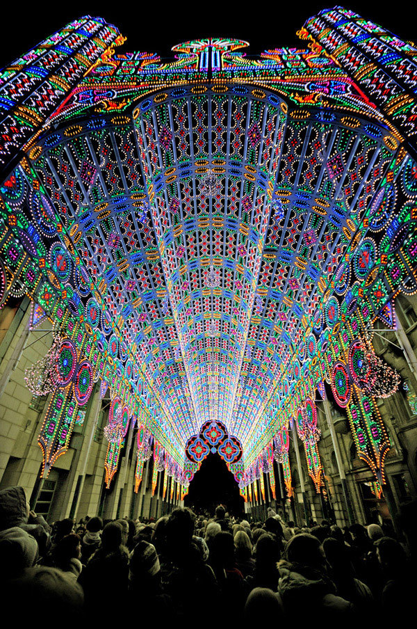 Ghent Light Festival held in Belgium