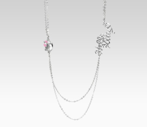 "Hello Kitty 26"" Double Chain Necklace"