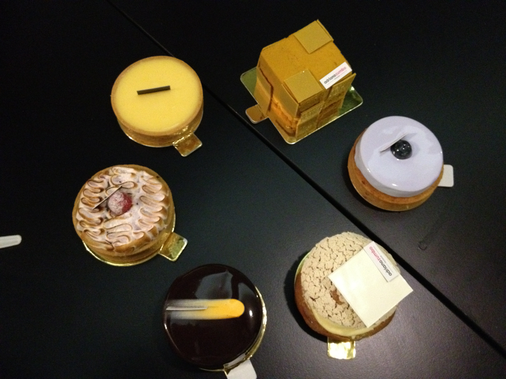 Our bounty @ Adriano Zumbo Patissier