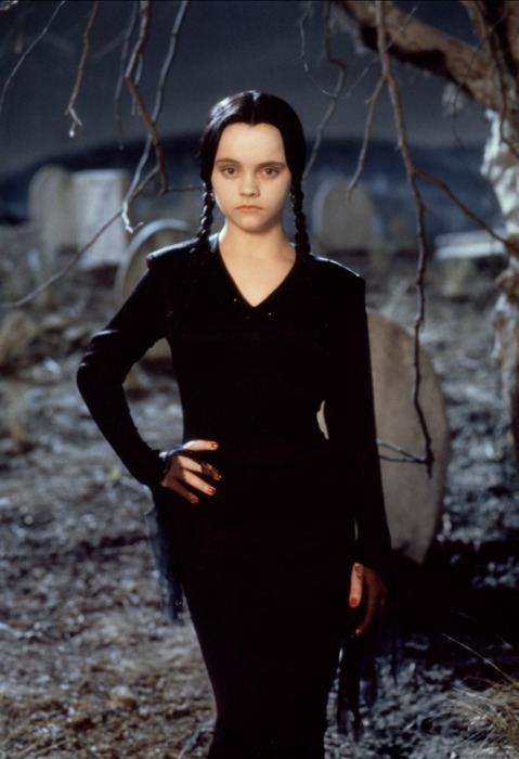 "Christina Ricci as Wednesday Addams in ""Addams Family Values"" by Barry Sonnenfeld."