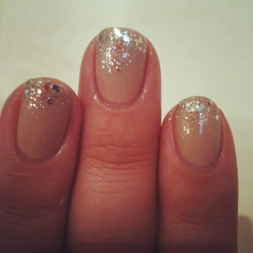 My favourite nails, now even better! #nailart #nails #love #essie #opi  (Taken with instagram)
