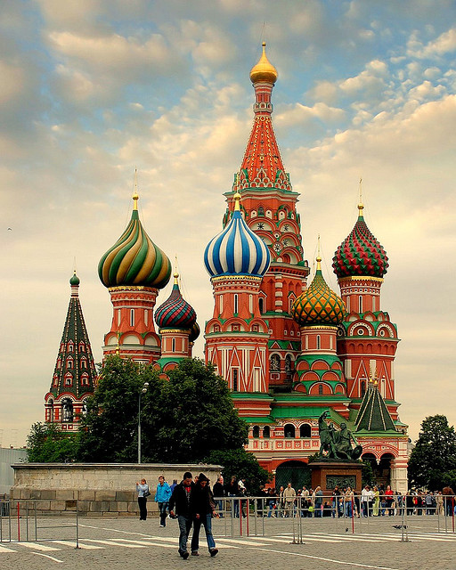 basil's cathedral by u c c r o w on Flickr.
