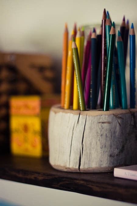 craftjunkie:  Pencil Holder {How to} Found at: manualidades