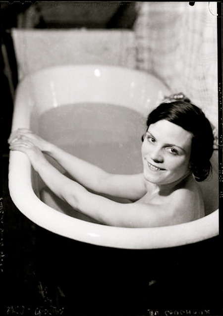 lauramcphee:  Woman in the bath, 1930 (François Kollar, Lysol advertisement)