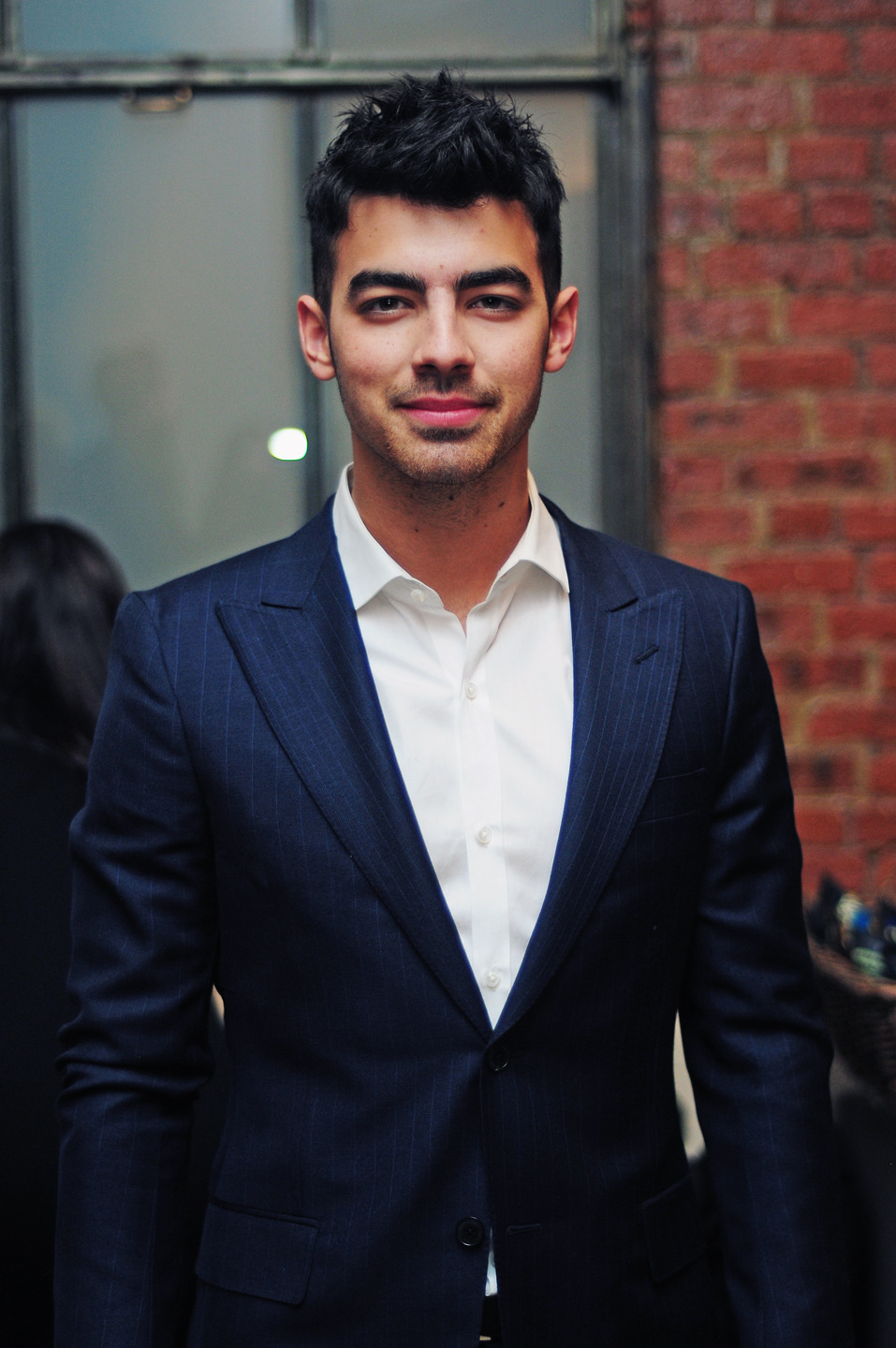 Joe Jonas backstage @ the Simon Spurr show in Milk Studios