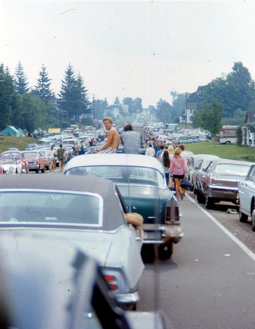 maudelynn:  the line to woodstock, august 1969