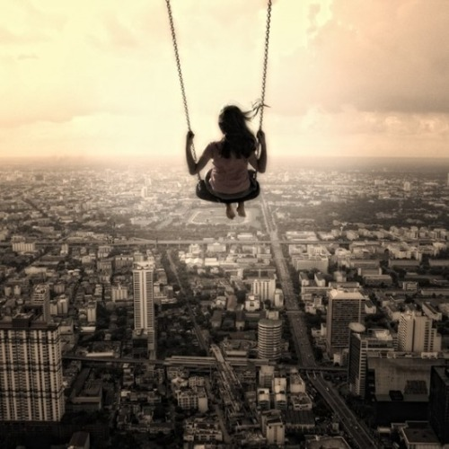 """The world is a playground, and life is pushing my swing."" ~Natalie Kocsis"
