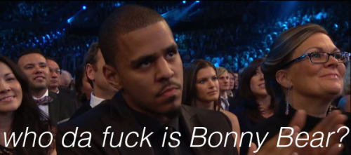 who-is-bon-iver:  J Cole after losing to Bon Iver.
