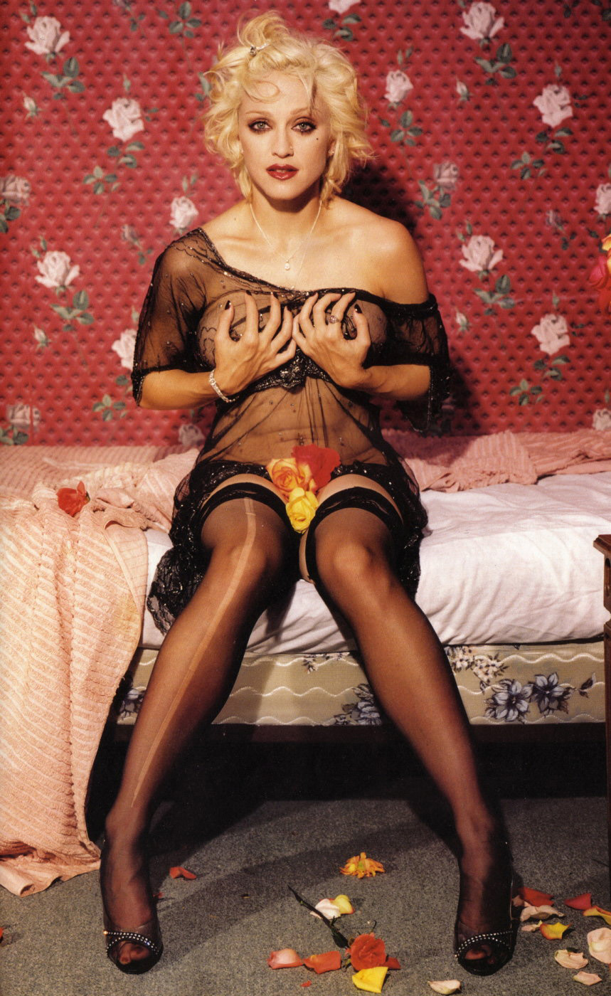Madonna photographed by Bettina Rheims in 1994