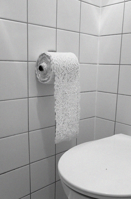 because real tp is for riffraff.