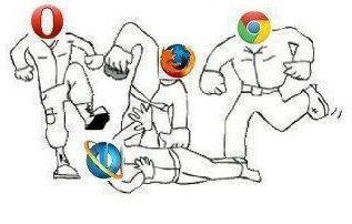 Microsoft Internet Explorer, Alone Against All xD