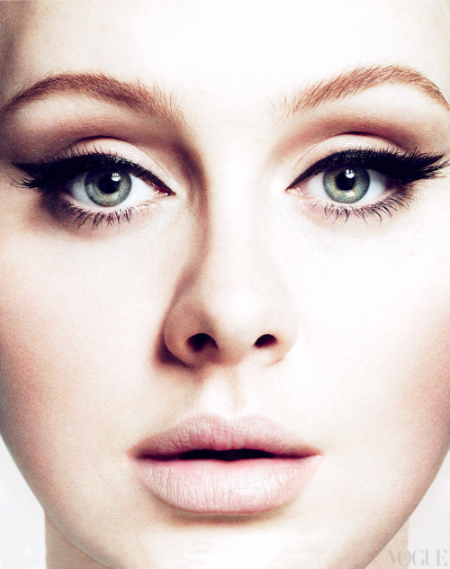 FACE IT! Adele makes an amazing cover model this month for Vogue US. Just enjoy and stop the endless debate over her size. She is simply stunning! source: Vogue/ pic: Mert & Marcus