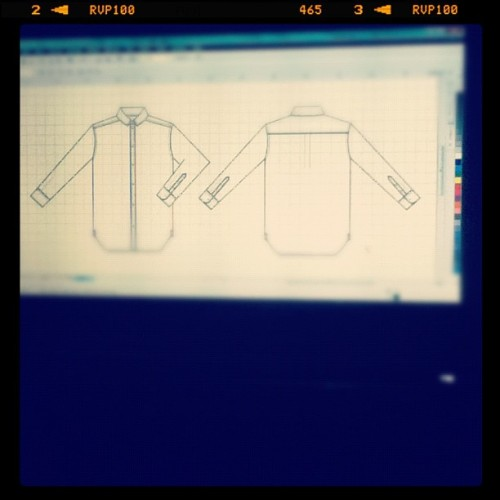 drawing step 2 use corel draw x4 (Taken with instagram)