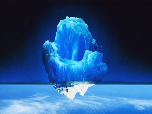 Just an iceberg.