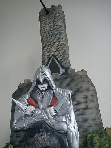 assassins creed ezio cake