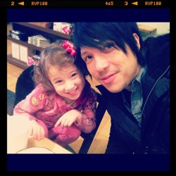 Daddy/Daughter Date before preschool visits! #myvalentine (Taken with instagram)
