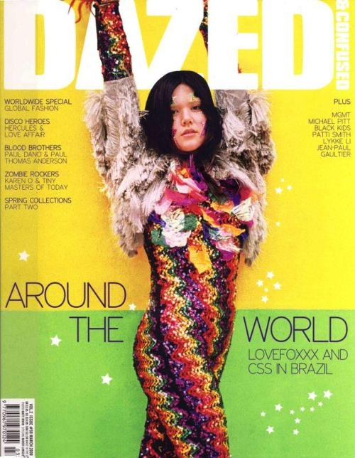 Dazed & Confused March 2008 : Lovefoxx  Matt Irwin - Photographer Lovefoxx  - Entertainer