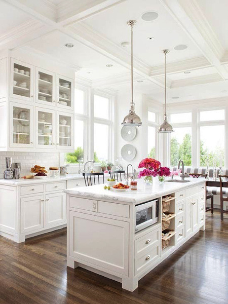 Another white kitchen? Surprise surprise.
