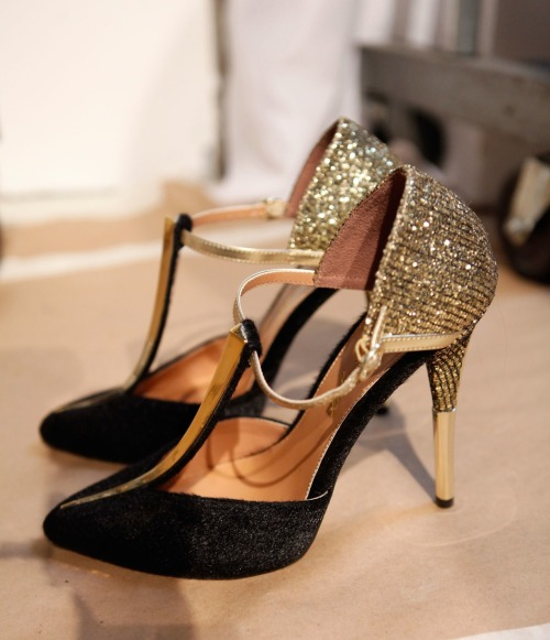 glamour:  Christian Siriano for Payless ready-for-the-dance-floor heels. See the full collection, over on STF.