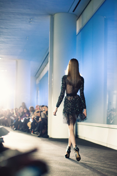 fromme-toyou:  The little black dress.. Prabal Gurung FW2012  gorgeous.