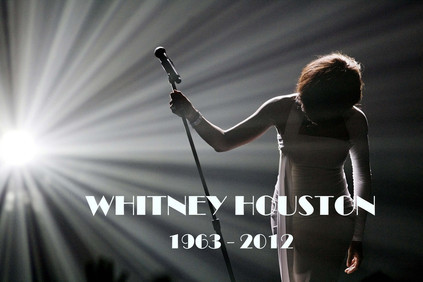Such a heartbreak to music fans everywhere.  You're forever in our hearts, Whitney.  http://www.whitney-info.com/