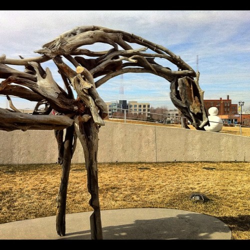 Pappajohn Sculpture Park - Des Moines (Taken with instagram)